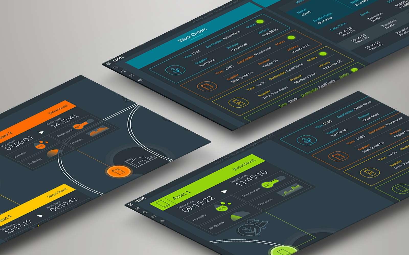 3 examples of arm digital interactive presentations