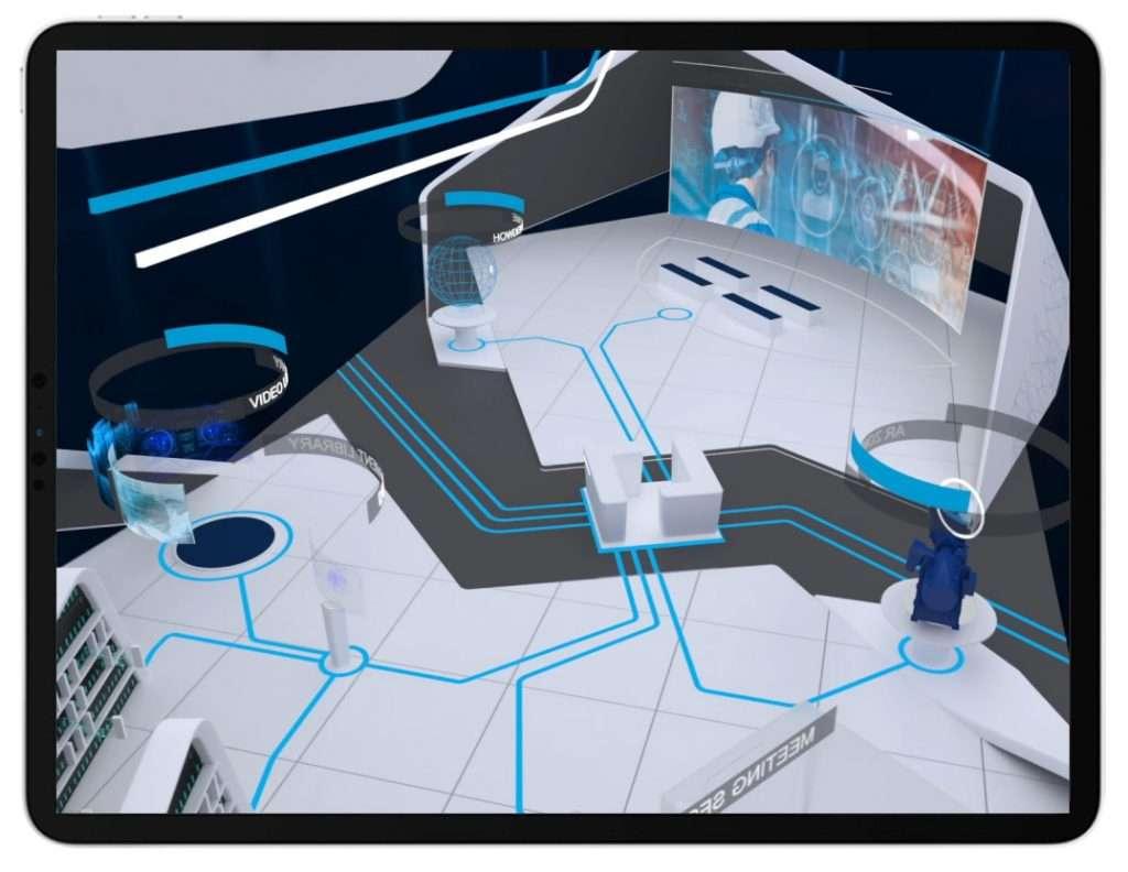 example of POPcomms virtual exhibition